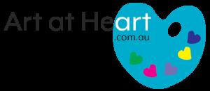 Art at Heart logo