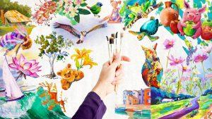 Learn Adventurer Acrylic