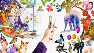 Learn Adventurer Watercolour