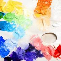 Acrylic color mixing