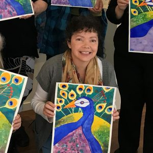 Student, Vanessa D. Watercolour