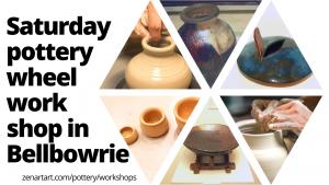 Brisbane Pottery Wheel Workshop 2021