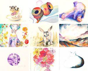 Watercolour Artworks by Jacqueline Hill