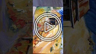 Ninja Art Tip #1 How to Varnish an Acrylic Painting