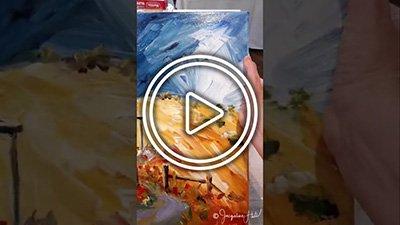 Ninja Art Tip #2 Why Should Paintings be Varnished?