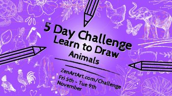 5 Day Drawing Challenge