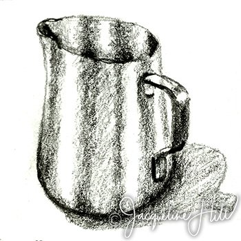 Reflective Jug by Jacqueline Hill